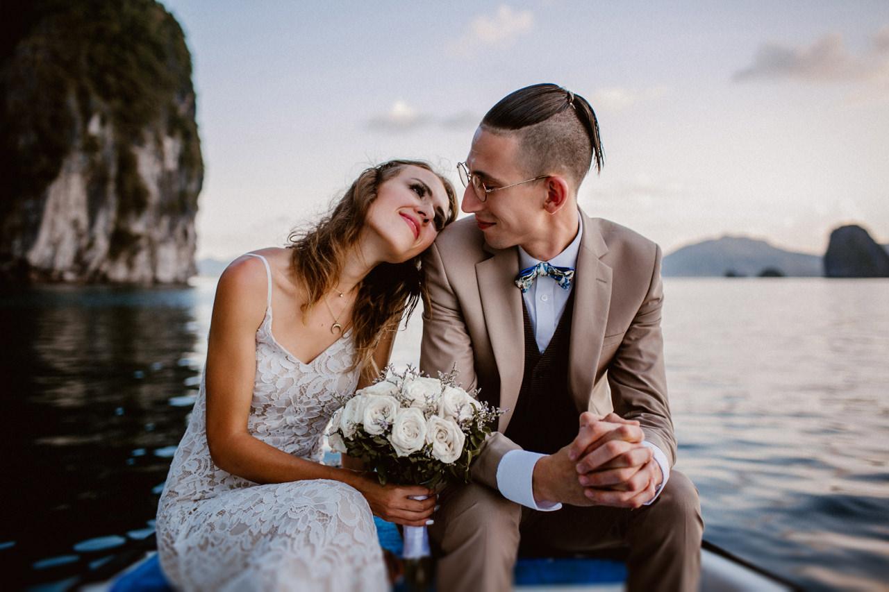 Miniomki ślub plenerowy zagranicą, Filipiny