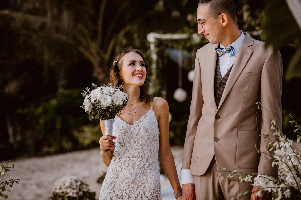 Ślub plenerowy Miniomków na Filipinach