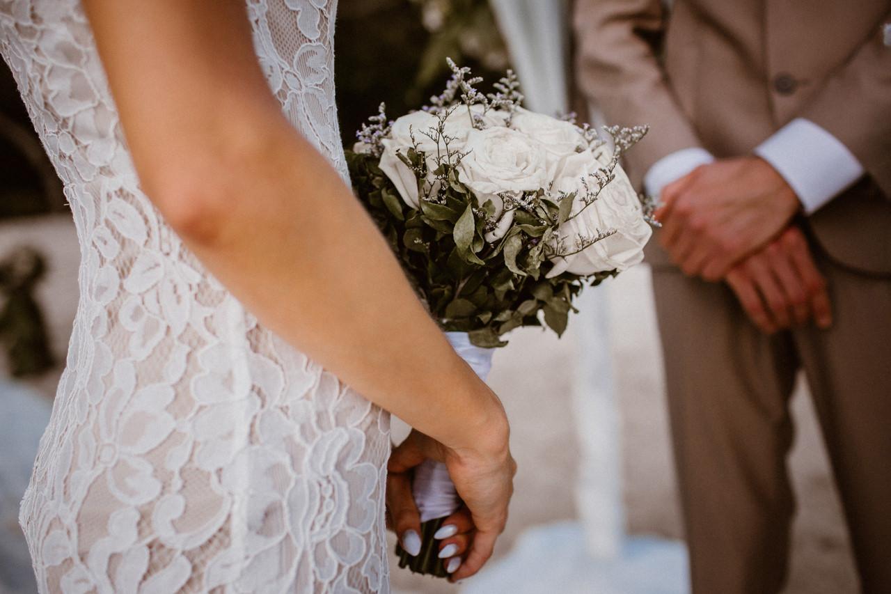 Bukiet kwiatów - ślub plenerowy Filipiny, Palawan
