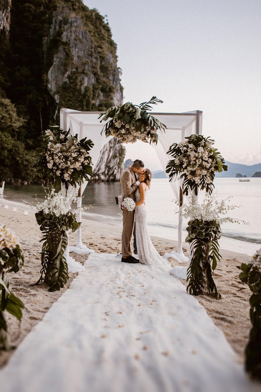 Fotografia ślubna Filipiny - Miniomki mężem i żoną