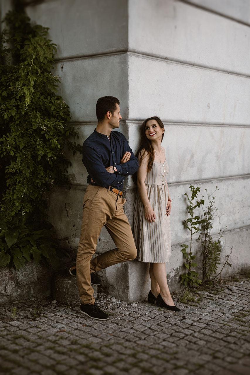 Paulina i Tomek - sesja narzeczeńska na Starym Mieście w Lublinie 4