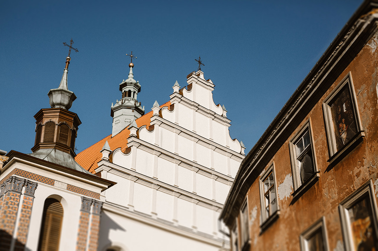 Paulina i Tomek - sesja narzeczeńska na Starym Mieście w Lublinie 8