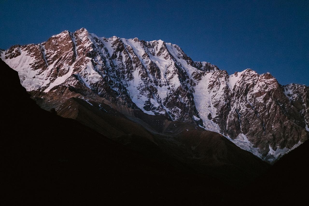Szchara najwyższy szczyt Gruzji