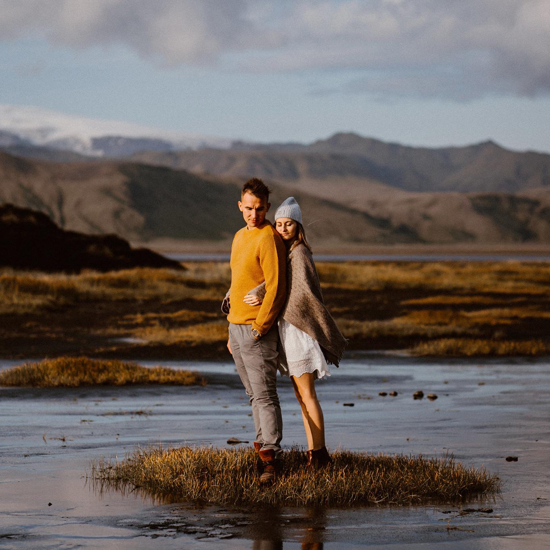 Sesja narzeczeńska Marysi i Michała - Islandia 4
