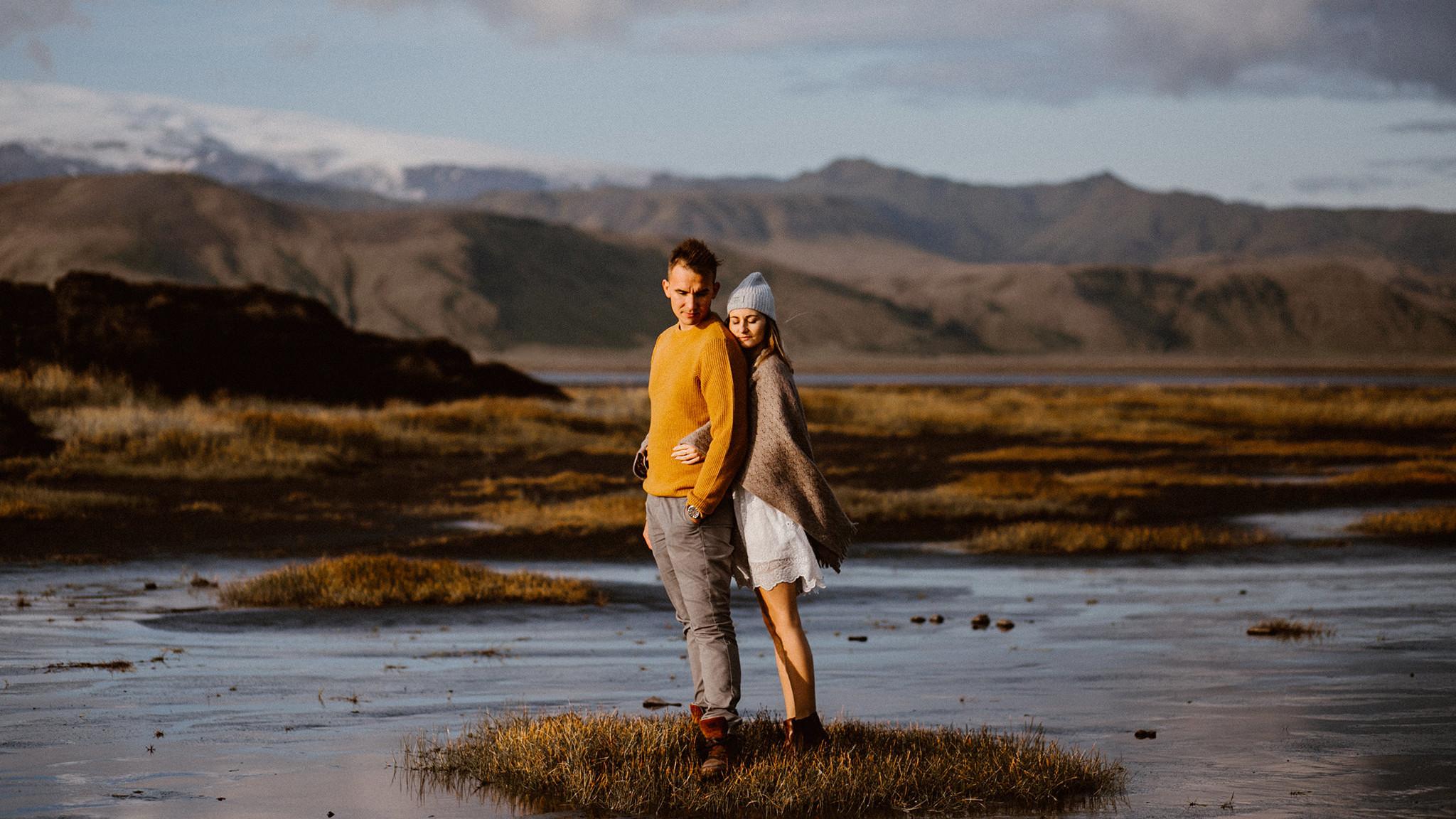 Sesja narzeczeńska Marysi i Michała - Islandia 10