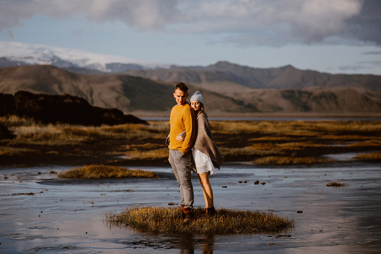 Sesja narzeczeńska na Islandii - fotograf Lublin