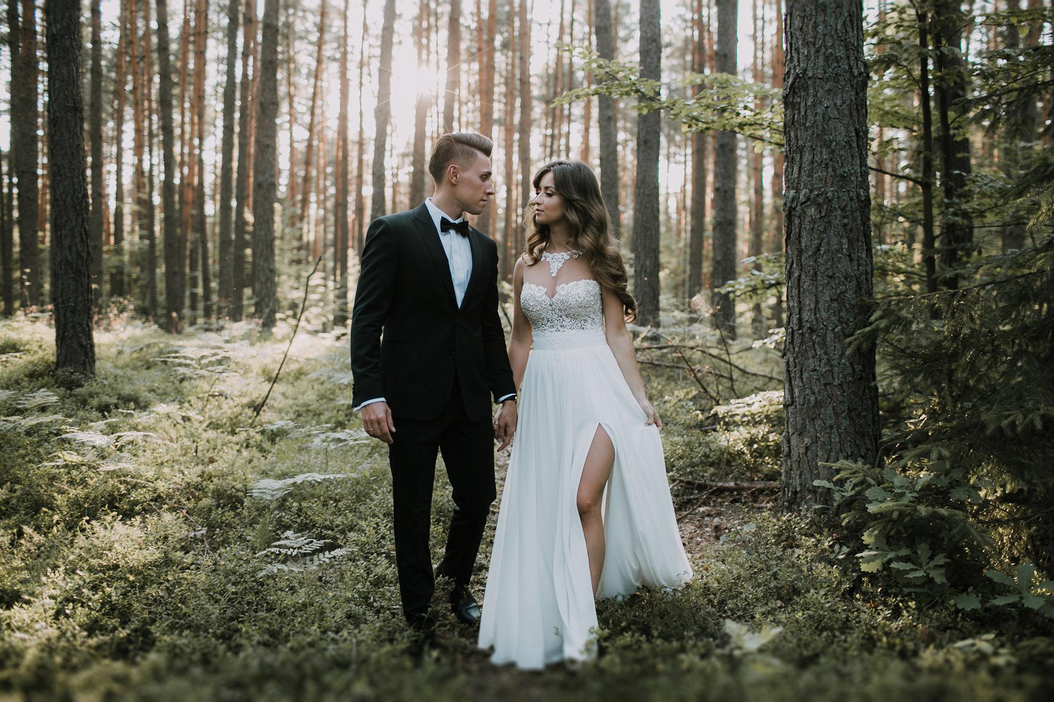 Ola Styloly I Piotr W Sesji Poslubnej W Zwierzyncu